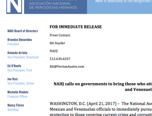 NAHJ pushes for Senate hearing on current media landscape
